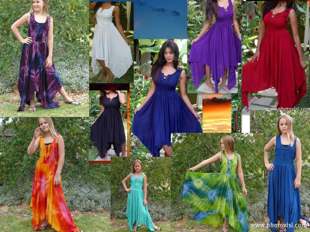 Gypsy Pixie Hem Light weight Summer Dress (6) 8 10 12 14 16 18 20 22 24 26  28 LAST ONES LEFT