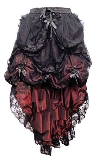 Gothic Burlesque Bustle Black Purple Red Tail – Train Moulin Victorian  Skirt suits sizes 8 10 12 14 16 18. Up to 20% Off! ZOOM + e94f84819