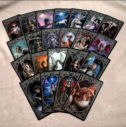 Anne Stokes Gothic Tarot Cards Lee S Dragon Dreams