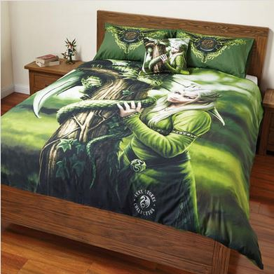 Anne Stokes Kindred Spirits Doona Cover Bed Set Double