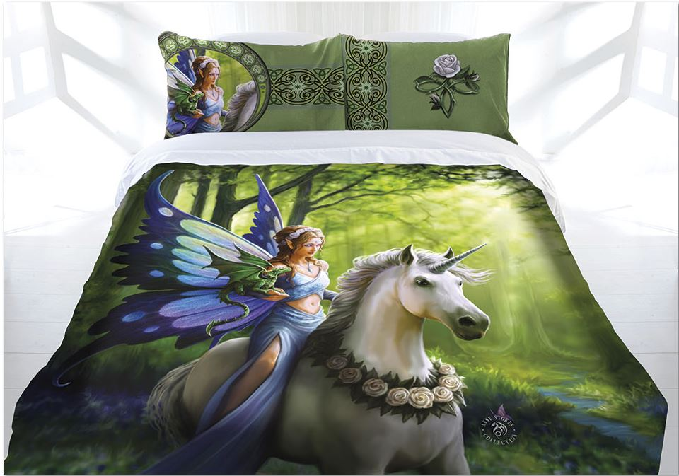Anne Stokes The Realm Of Enchantment Quilt Cover Set