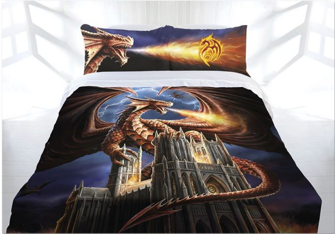 how to train your dragon bedding queen