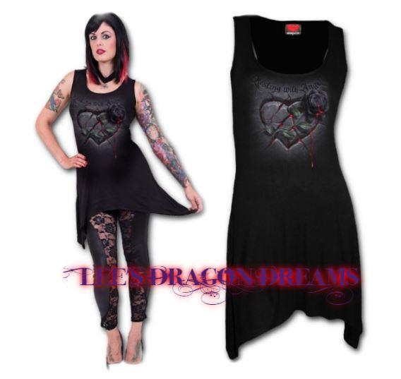 vest resting with angels goth bottom camisole top dress s. Black Bedroom Furniture Sets. Home Design Ideas