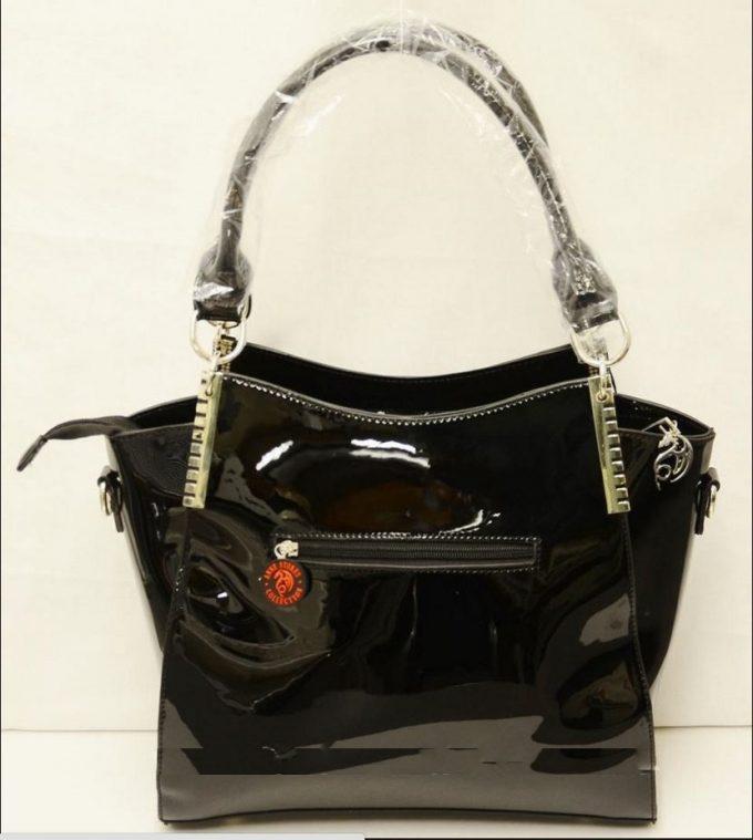 ANNE STOKES 3D Large Hand Bag Black PVC Goth Angel Fairy /'Love Remains/'