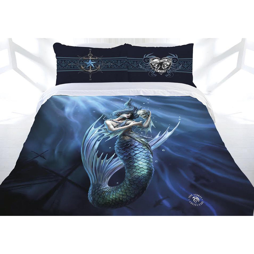 Anne Stokes Sailors Ruin Doona Quilt Cover Bed Set Double
