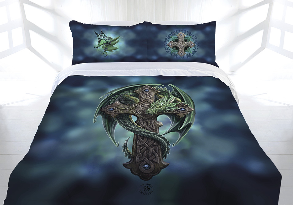 Anne Stokes Woodland Guardian Quilt Doona Cover Set