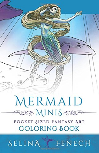 Mini Colouring Book - Coloring Mermaids Minis by Selina Fenech ...