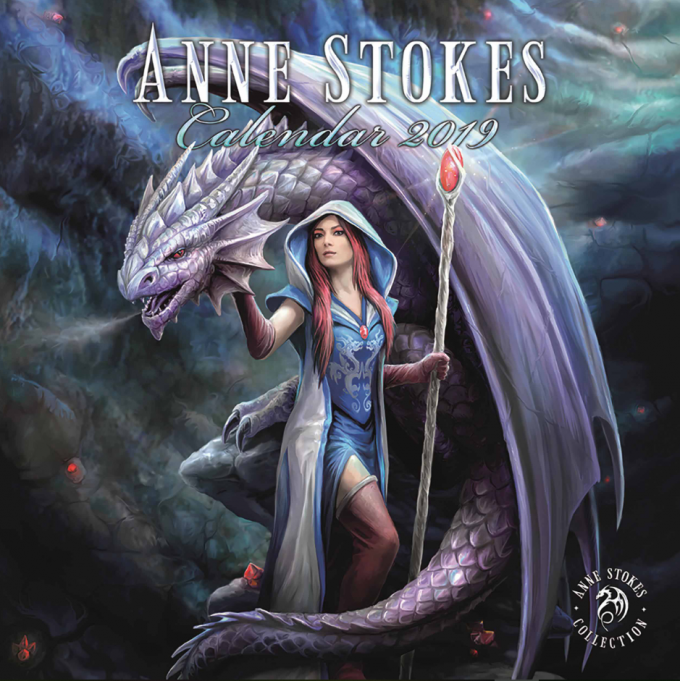 Anne Stokes Collection Official 2019 Calendar - Lee's